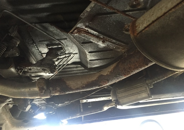 VW Bus T4 Unterboden ok