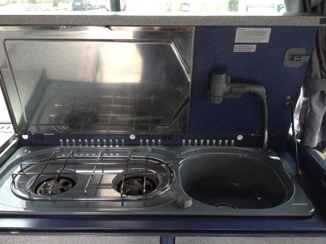 VW Bus T4 Westfalia Kochgelegenheit noch ohne Gas