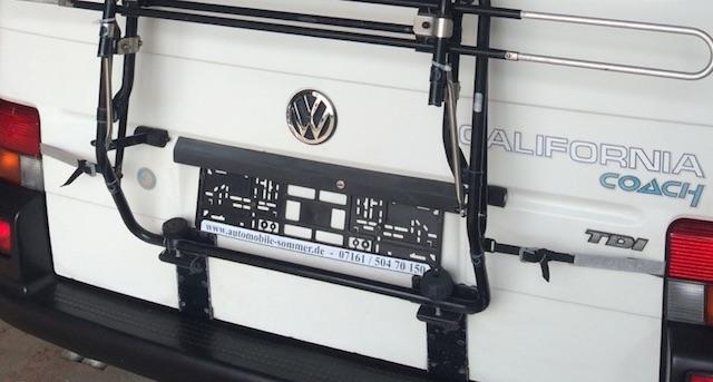 VW Bus T4 Wohnmobil optisch aufgewertet
