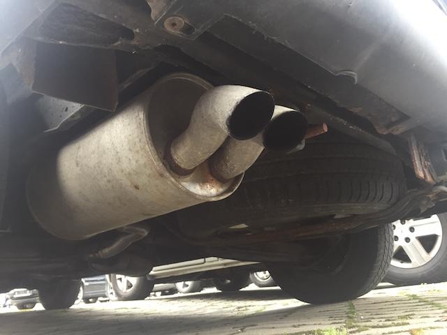 VW Bus T4 billiger Auspuffendtopf