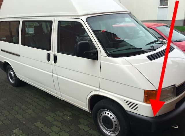 VW Bus T4 hoch und Lang ohne Parkrempler inseriert