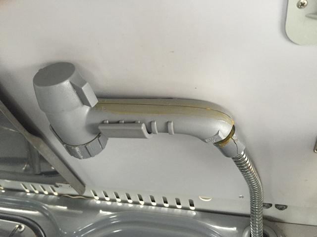 Wasserhahn auch Duschbrause VW Bus T4 Camper