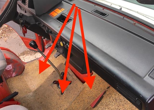 Dämmung Fussraum VW Bus T3 vorne Comfort Ausstattung