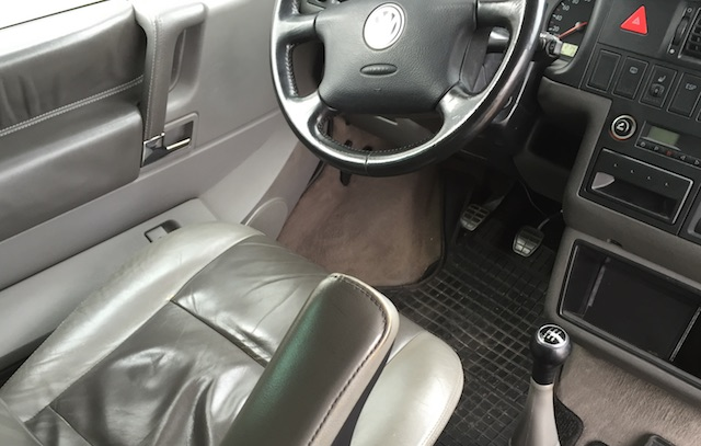 T4 Generation high line leather interieur