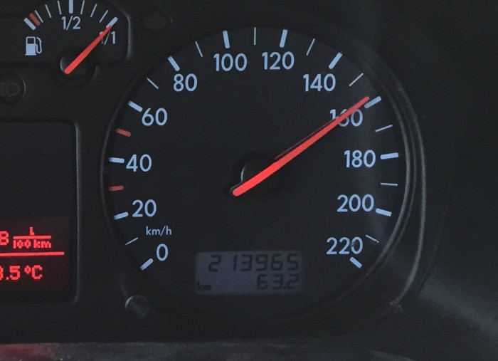 T4 Km Stand nach Ueberfuehrung durch den BusChecker