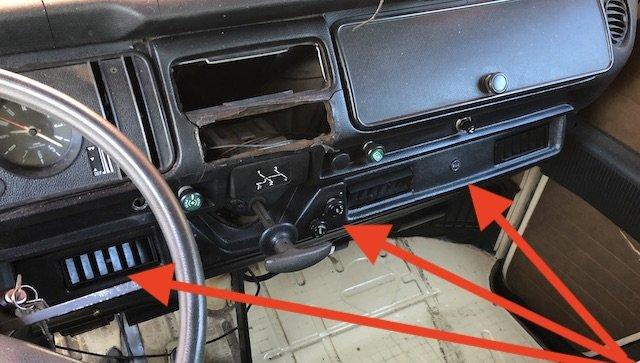 VW Bus T2 Klimaanlage nachrüsten