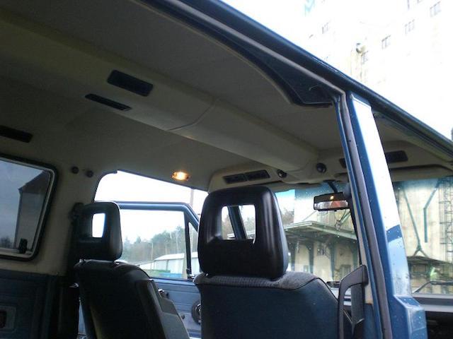 VW Bus T3 Klima manuelle Reglung an der Luftfuehrung oben
