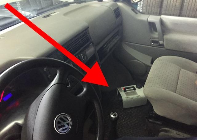 VW Bus T4 Klima Innenraumgeruch reinigen