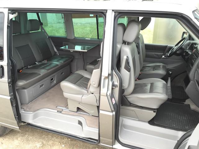 VW Bus T4 Multivan Serie II Platz hinten oder vorne