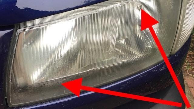 VW Bus T4 TUEV neu Scheinwerfer defekt
