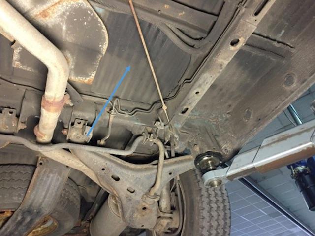 VW Bus T4 Unterboden Rost beurteilen