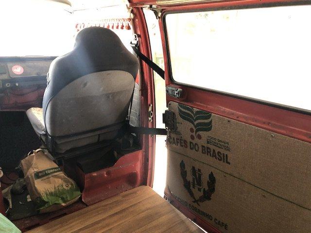 Hitzekoller im VW Bus T2 hinten
