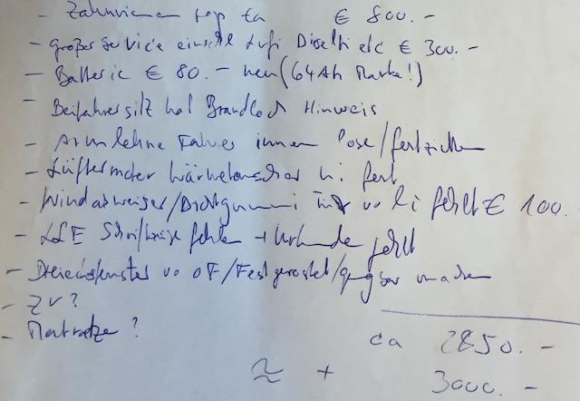 T3 LLE 2032 VW BusCheck vor Ort Wiesau fuer Gero to do Liste Seite 2 von 2