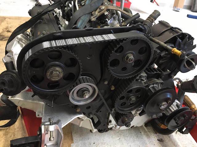 VW Bus T3 LLE Motor komplett zerlegt und wieder komplettiert