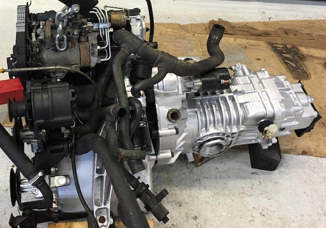 VW Bus T3 umfangreich hergerichteter Motor sieht so nicht aus