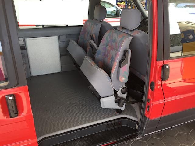 VW Bus T4 Multivan Serie 1 mit back to back Sitzen