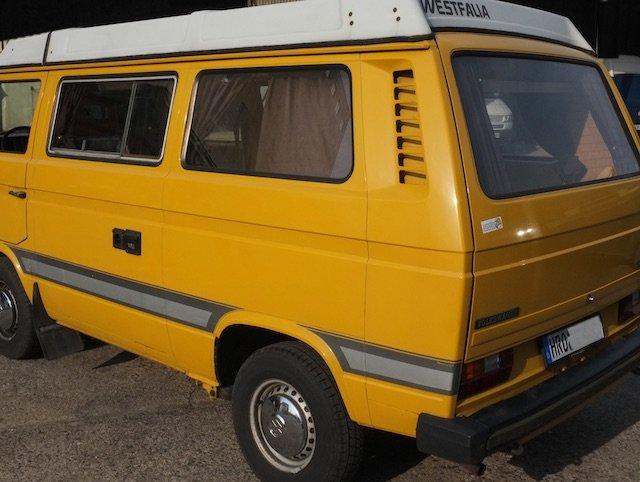 VW Bus T3 Luftgekuehkuehlt Boxer erste Serie