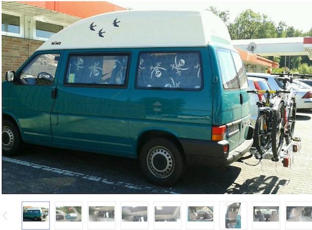 VW Bus T4 HochDachCamper reiner 2 Sitzer ?
