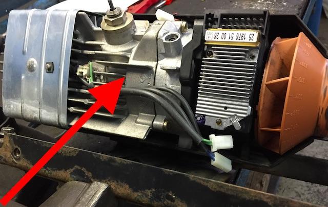 VW Bus T4 Standheizung Umluftheizung Brennkammer