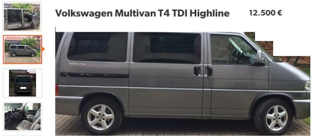 VW Bus T4 high Line Kaufberatung online kostenlos Bus Checker