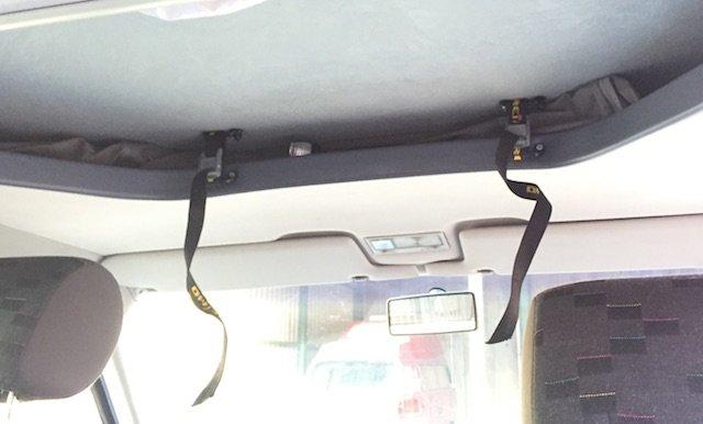 VW Bus T4 Faltdach SCA Ansicht innen geschlossen
