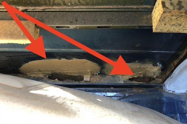 Faserspachtel statt korrekter Karosseriearbeit VW Bus Restauration