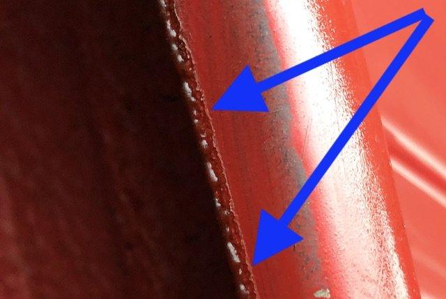 Kotflügelkanten konservieren per FERTAN UBS 240 Dauerelastisch