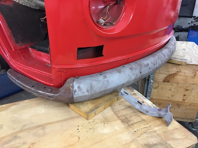 Originalteile retten und aufarbeiten VW Bus