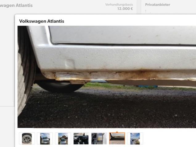 VW Bus Roststellen bearbeiten Bus Checker