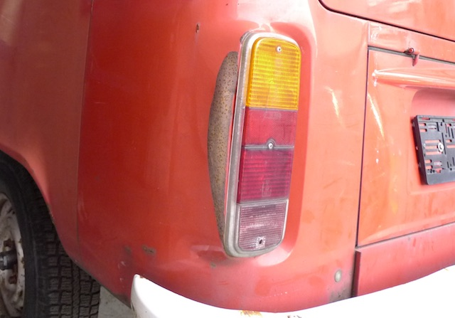 VW Bus T2 Rost begutachten Bus Checker