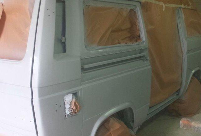 VW Bus T3 Syncro komplett Lackierung
