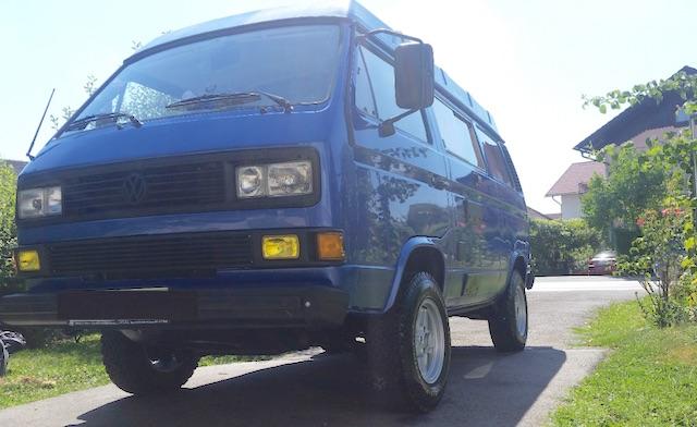 VW Bus T3 Syncro restaurieren mit dem Bus Checker