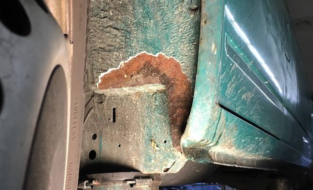 VW Bus T4 Rostprobleme wo