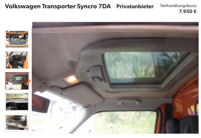 VW Bus T4 Syncro Spezialist VW Bus Checker