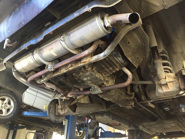 Auspuff Teile T3 Boxer Benziner Wasser