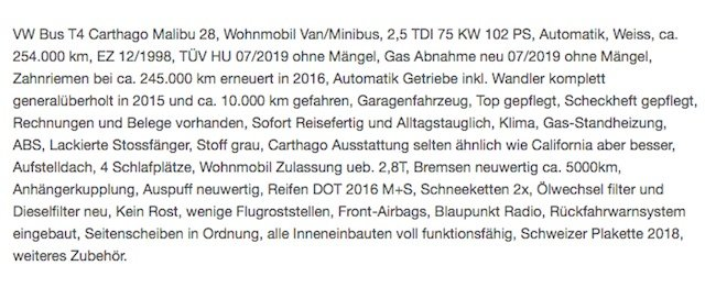 Automatikgetriebe VW Bus general ueberholt Test BusChecker