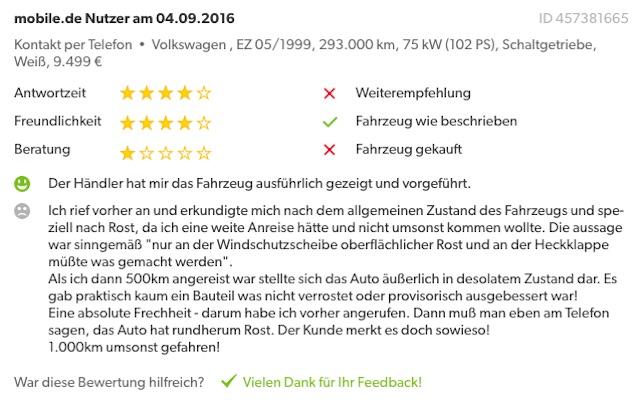 Mobile De Bewertung Händler Vw Busse Karlstadt Buschecker Buschecker