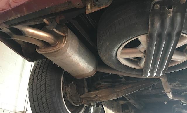T4 Auspuffendtopf Volkswagen