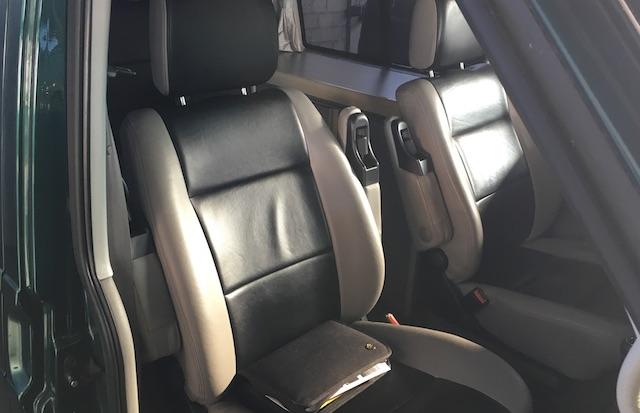 T4 Lederbezug Sitze anfertigen aus Kunstleder