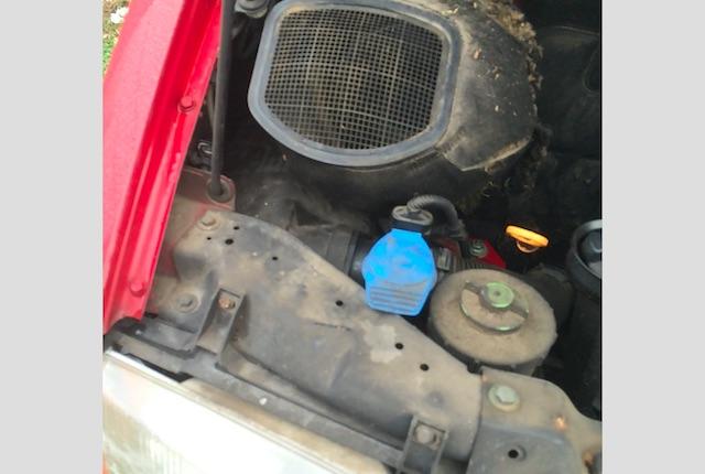 T4 Motorraum dreck kein Rost