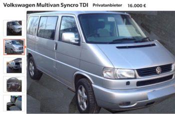 T4 Multivan Syncro Diebstahlschaden Erfahrungen