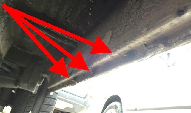 T4 Schweller Unterboden handwerklich schlecht gearbeitet
