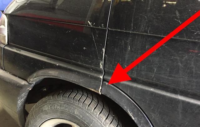 T4 VW Bus Diebstahl Schaden vorne links