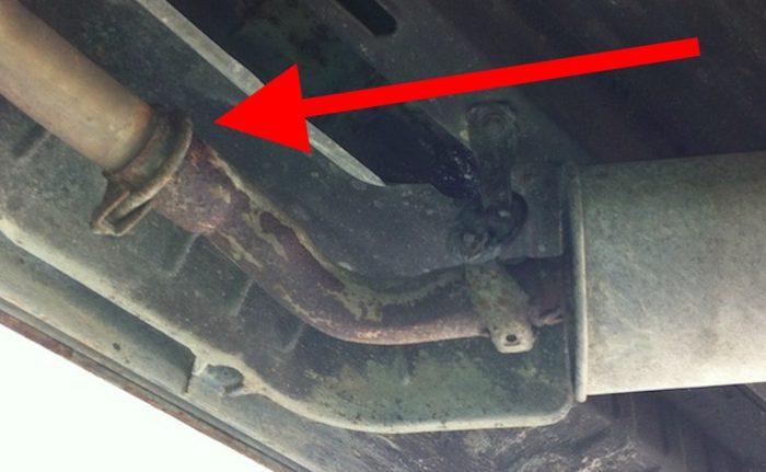 VW Bus Auspuff Schelle billig