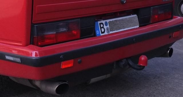 VW Bus T3 Oettinger sechs Zylinder Porsche Rumpf