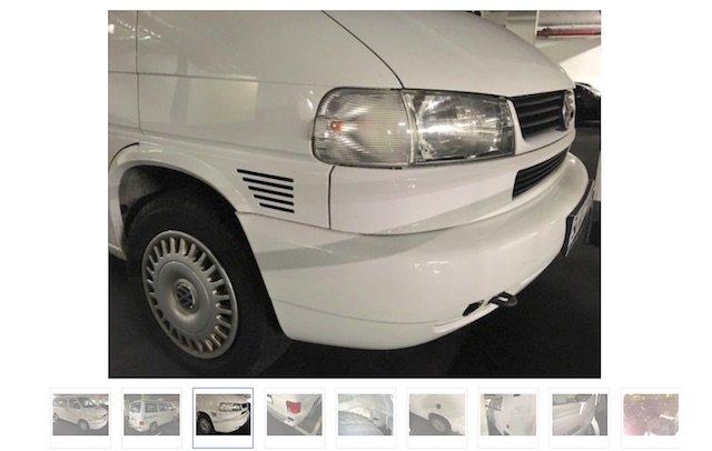 VW Bus frisch lackiert was stimmt nicht