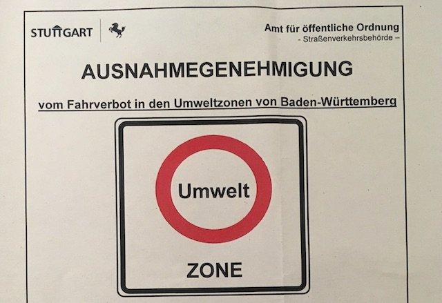 Ausnahmegenehmigung Umweltzone Dieselfahrverbot Berater BusChecker