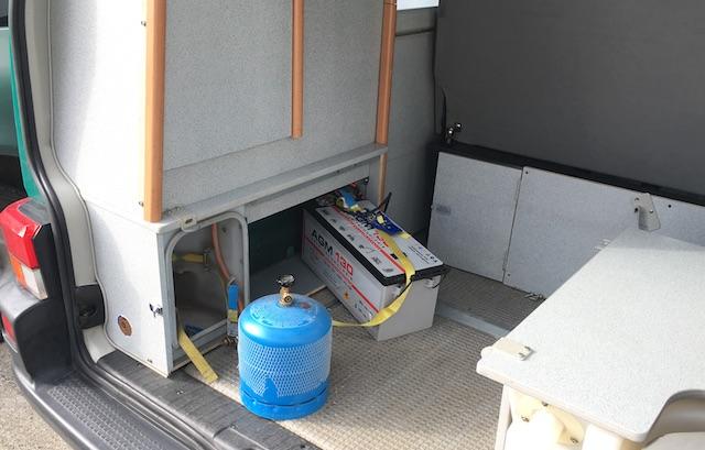 T4 Westfalia Zusatzbatterie erneuern