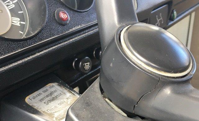 Lenkrad VW Bus T2 Plastik gebrochen