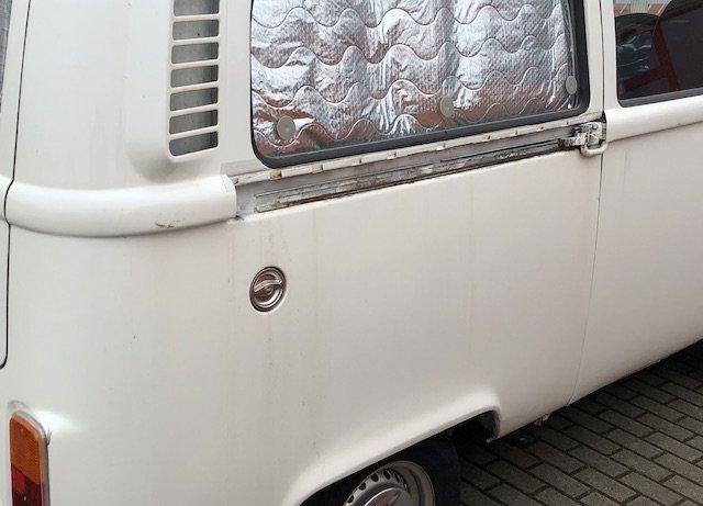 Rost nach Lackierung VW Bus T2